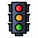 road, sign, traffic light, traffic signal