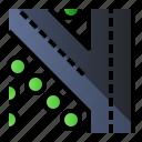 direction, road, sign, turn left