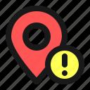 map, navigation, location, alert, sign, warning