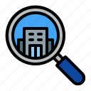 building, property, location, map, gps