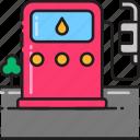 gas, station, fuel, oil, petrol, gasoline, train