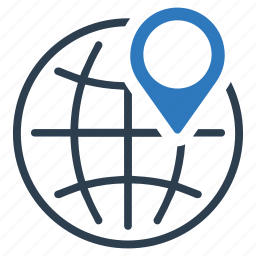 geo, marker, pin, position icon