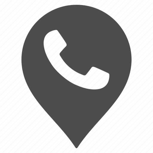call center, connection, map pointer, marker, pin, public phone, telephone icon