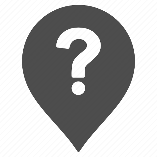 about, help, information, map pointer, marker, pin, question icon