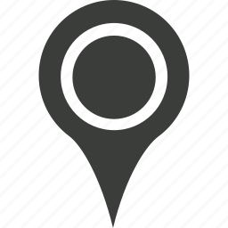 base marker, gps, location, map marker, marker, pin, tick icon