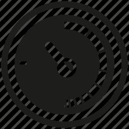 meter, speedometer icon