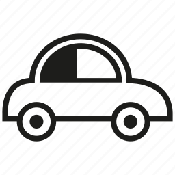 car, eco car, small icon