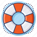 help, lifebuoy, lifesaver, support icon