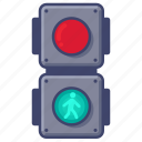 lights, crossing, traffic