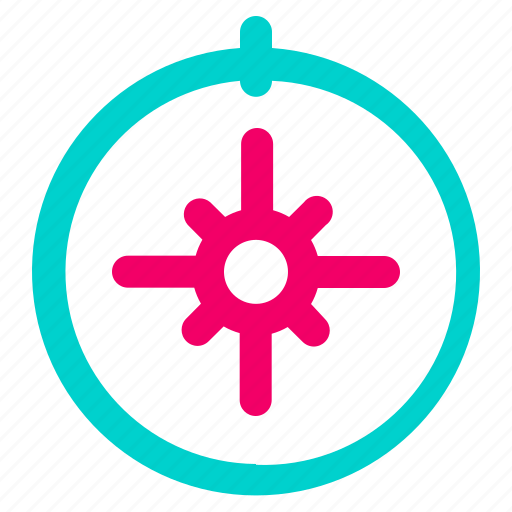 arrow, compass, direction, gps, navigation icon