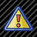 caution, warning, danger