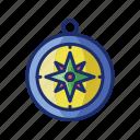 compass, navigation, direction