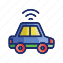 connected, vehicle, car, wireless