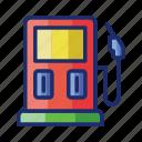 gas, station, fuel, oil, petrol