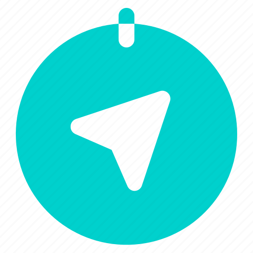 arrow, direction, gps, navigation icon