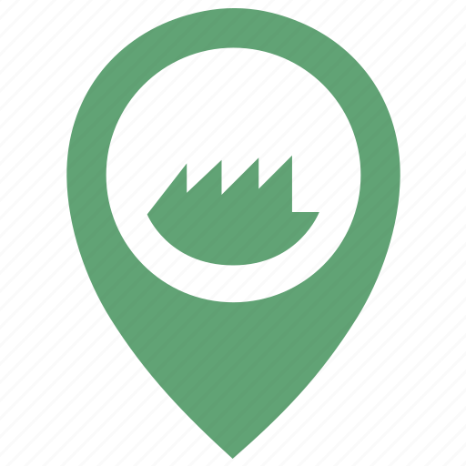 Grass, location, place, poi, pointer icon - Download on Iconfinder