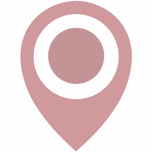 Dot, location, pink, poi, pointer icon - Download on Iconfinder