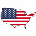 united, states, america, united states, state, map, location