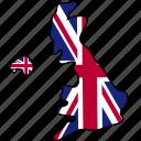 united, kingdom, flag, country, national, nation, world