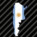 arjentina, flag, country, national, nation, world