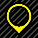location, map, mark, marker icon