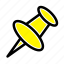 mark, marker, pin