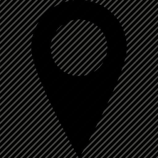 adress, destination, location, map, pin, street icon