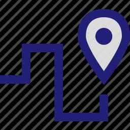 destiny, find, locate, pin icon