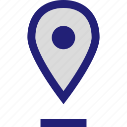 floating, gps, location, pin icon