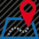 address, destination, location, map, pin, street