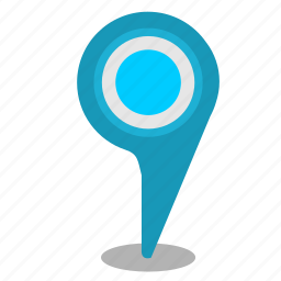 address, location, map, poi, pointer icon