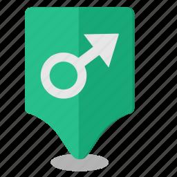 geo, location, male, poi, pointer icon