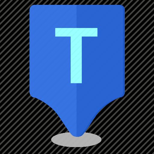 geo, location, map, poi, pointer icon
