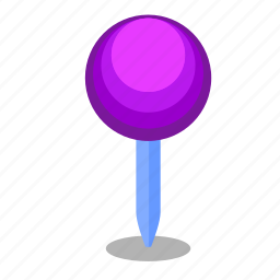 location, map, pin, poi, pointer, round icon