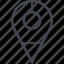 gps, nav, navigation, pin, point icon
