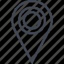 gps, navigate, navigation, pin, point icon