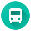 bus, directions, material design icon