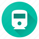 directions, material design, railway icon