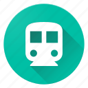 directions, material design, subway icon