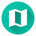 map, material design icon