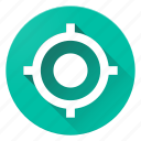 location, material design, my, my location, target icon