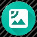 image, material design, satellite icon