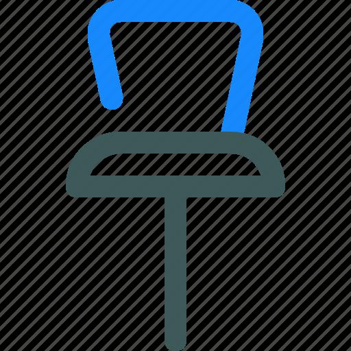 location, map, navigation, pin, thumbtack icon