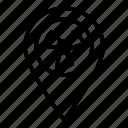 location, pin, marker, locate