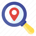 find location, find map, search location, zoom address, zoom location, zoom map icon