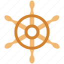 boat, boat controller, boat steering, ship wheel, steering, wheel icon