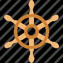 boat, boat controller, boat steering, ship wheel, steering, wheel