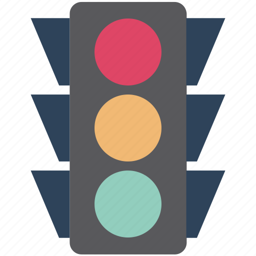 signal lights, stop lights and robots, traffic lamps, traffic lights, traffic semaphore, traffic signals icon