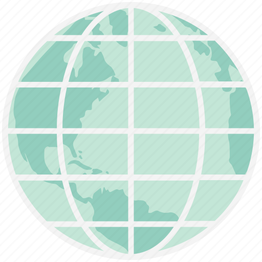 Earth globe, earth grid, global network, globe, planet, world map, worldwide icon - Download on Iconfinder