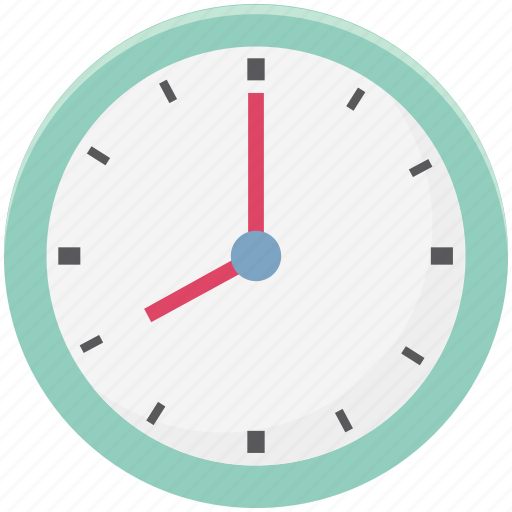 Appointment, clock, round clock, schedule, timepiece, timer, wall clock icon - Download on Iconfinder